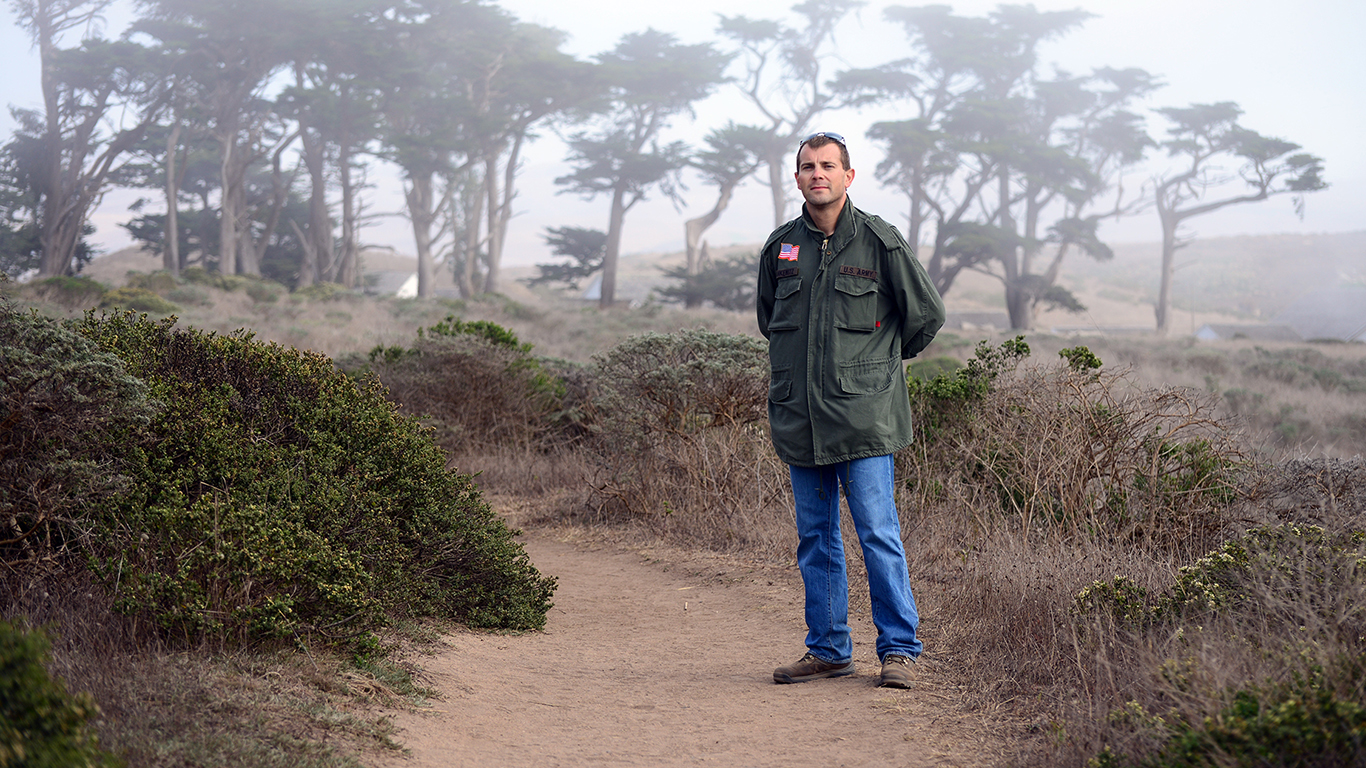 Sten is a moderate health nut and an avid hiker. This photo was taken in the fall of 2015 in Point Reyes, CA.