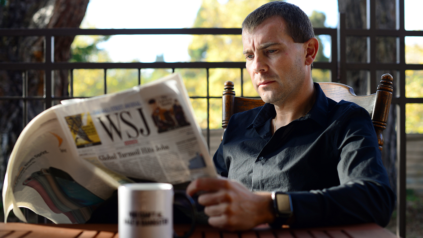 News is an important part of Sten's life. A perfect day starts with a hot cup of coffee and a great newspaper.